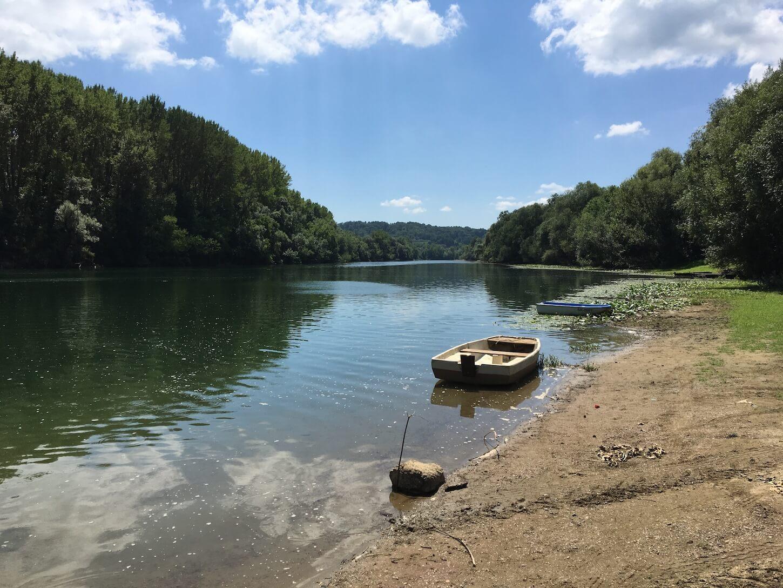 Fluss Kupa in Kroatien