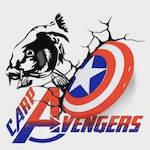 Carp Avengers Logo