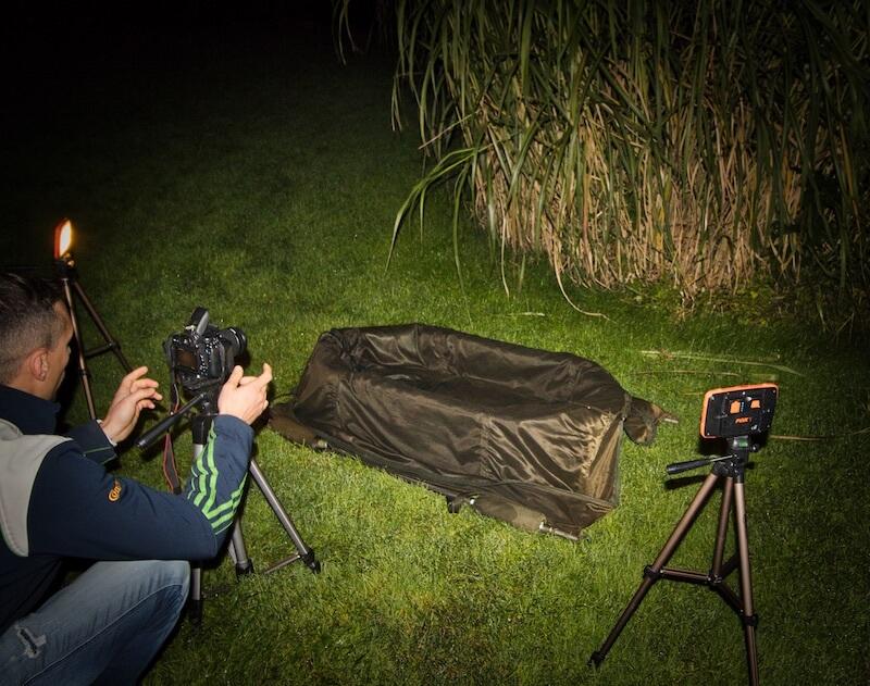 Kameraeinstellung Nachtfotografie Karpfenangeln