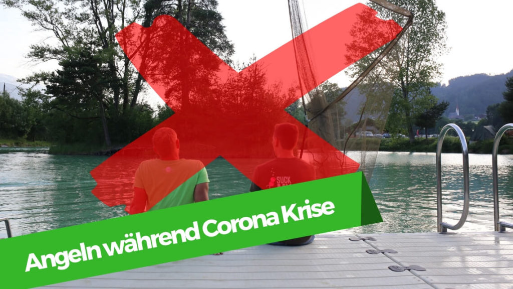 Karpfenangeln während der Corona Krise
